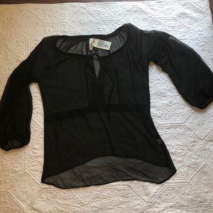Gypsy Junkies Sheer blouse